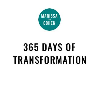 365 Days of Transformation
