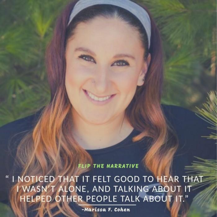 Flip The Narrative: Marissa F. Cohen : An Interview by Lana Jelenjev
